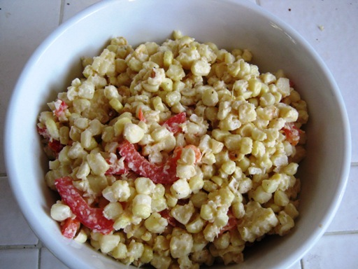 2009-06-27- Grilled Corn Salad 001