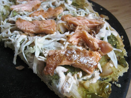 2010-10-17 Fish Taco Pizza – Crust and Final Pics 052