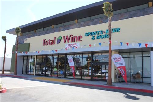 Total Wine & More in Redondo Beach is a beverage warehouse with extensive selections of wine,