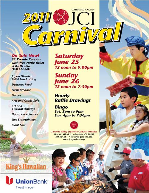One of my Favorite South Bay events: the Gardena Valley Japanese Cultural Institute Family Fun Carnival