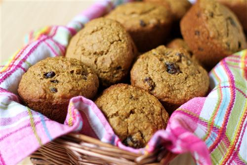 Vegan Raisin Bran Muffins p 33