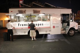 Piaggio Food Truck on La County Fair Food Truck Crepes Bonaparte