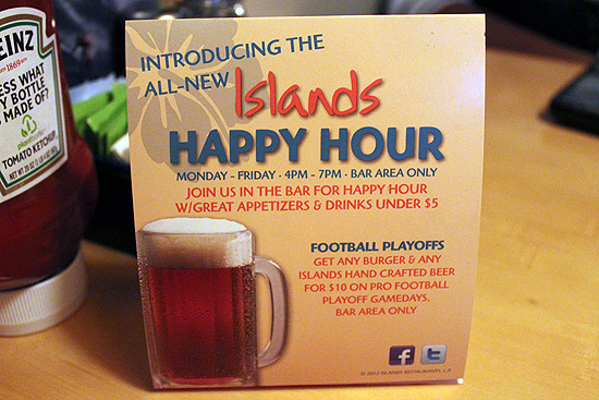 Happy Hour Islands Redondo Beach