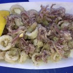 One of my favorites, calamari with Greek seasoning