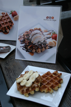 The Speculoos Special from Waffles de Liege