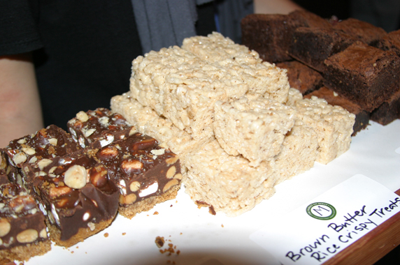 Smores, rice krispies & brownies