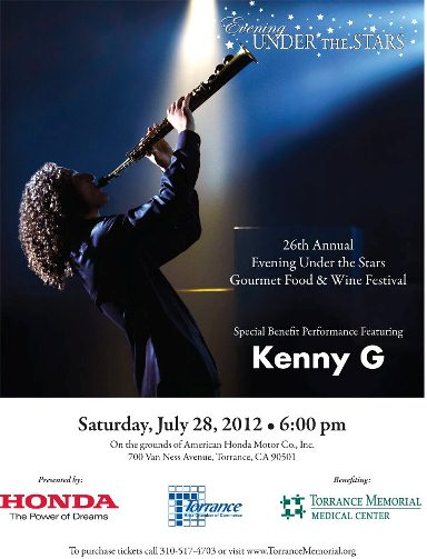 Kenny G at Evening Under the Stars