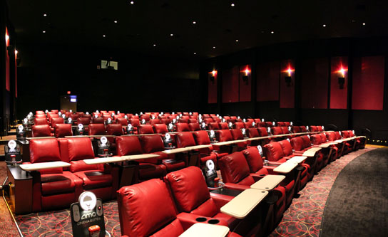 Pictured Here In One Of The Larger Halls At The Amc Dine