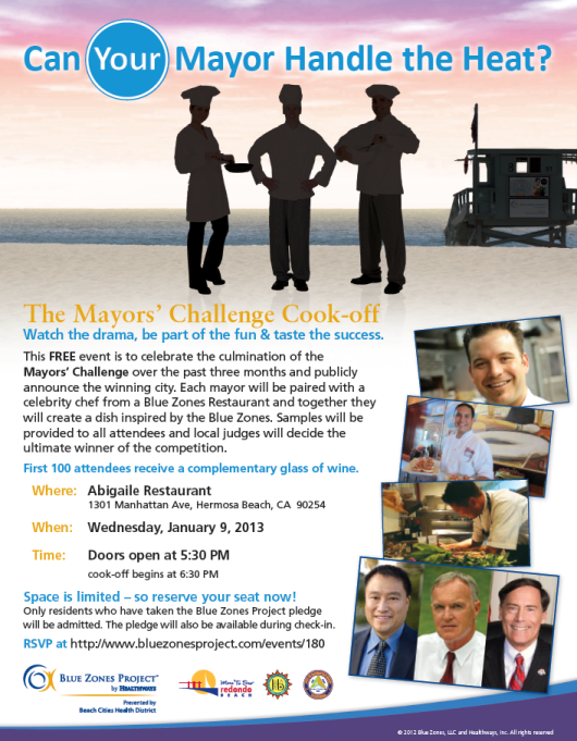 The Mayors' Challenge Cook-off