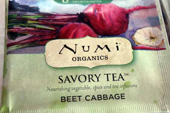 Beet Cabbage Numi Tea Savory Vegetable Teas