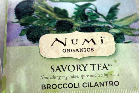 Broccoli Cilantro Numi Tea Savory Vegetable Teas