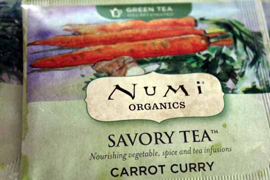 Carrot Curry Numi Tea – Savory Vegetable Teas