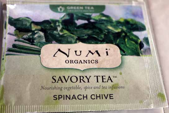 Spinach Chive Numi Tea – Savory Vegetable Teas