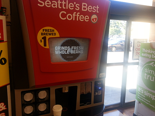 Rubi Is Basically A Seattle S Best Coffee Vending Machine