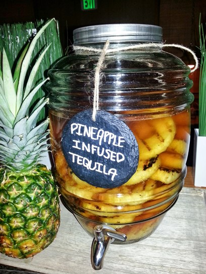 Pineapple Infused Tequila – NFL Happy Hours at Islands Restaurant 05