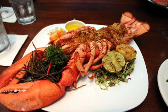Baked stuffed Maine lobster | South Bay Foodies