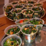 Kale salad with herb vinagarette